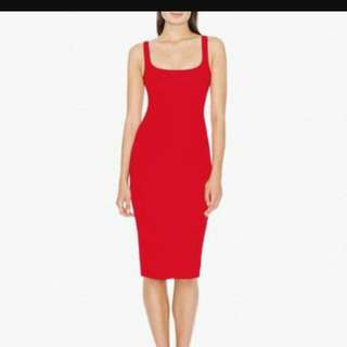 American Apparel Ponte Dress