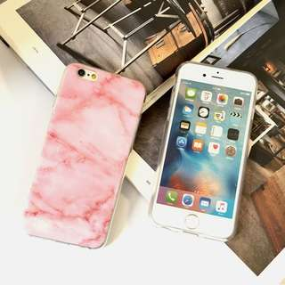 Iphone5 / 5s/ Se pink rubber case