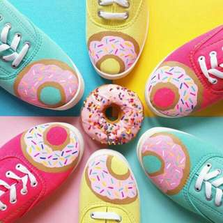 Donuts  Custom  Shoes