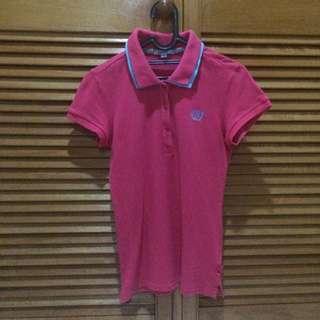 Baleno Pink Polo Shirt