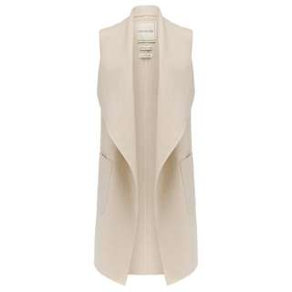 Forever New Jess Sleeveless Wrap Coat
