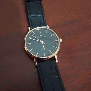 valentino coupeau 范倫鐵諾 簡約城市風格皮革錶