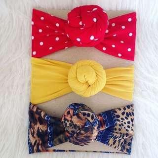 topknot turban
