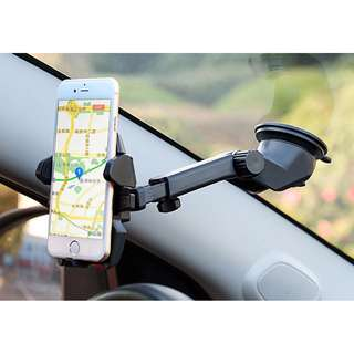 Universal Stickey Car Holder Smart Phone Navigation Support Suction 360 Rotate Adjustable