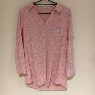 Valleygirl Pink Patterned Shiry