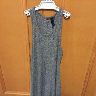 Factorie Dress Grey Size Xxs