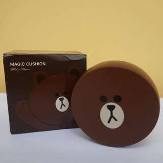 Missha × LINE Friends M Magic Cushion Brown #23