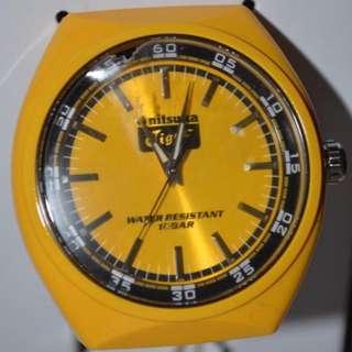 Onitsuka Tiger Watch (Yellow)