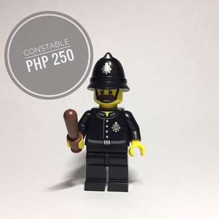 Lego Minifigure Constable