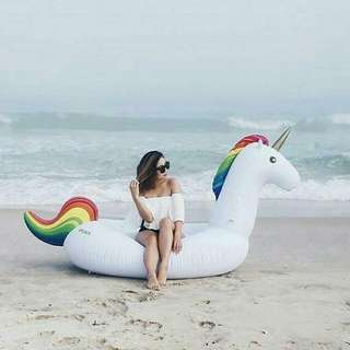 Giant Unicorn Pool Floater inflatable