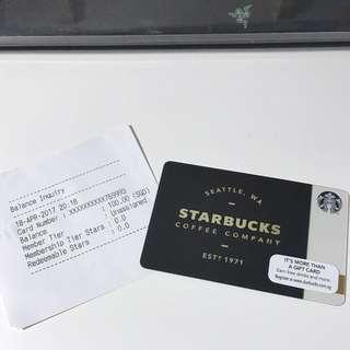 Starbucks Gift Card $100