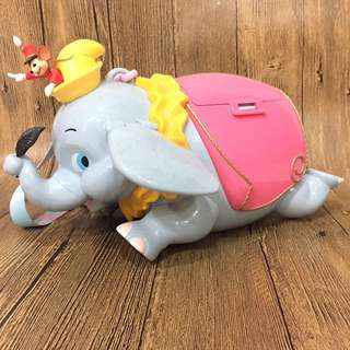 日本 迪士尼 小飛象 爆米花桶