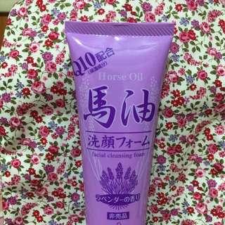日本薰衣草馬油洗面乳