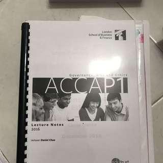 ACCA P1