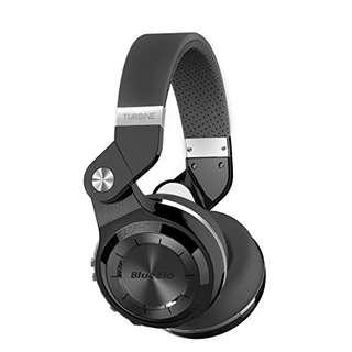 Original Bluedio Turbine T2s Wireless Bluetooth Headphones with 1-Year Warranty