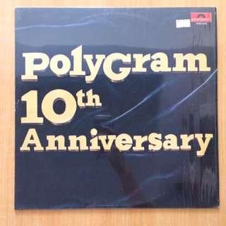 Polygram 10th Anniversary vinyl 黑膠