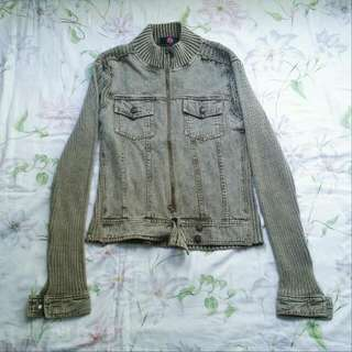 Army Green Denim Jacket