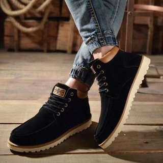 Men High Cut Boots