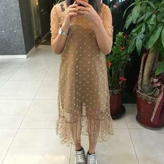 蕾絲點點洋裝