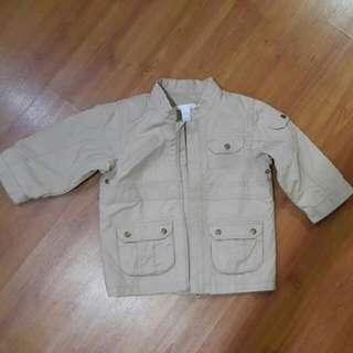 Beige Winter Jacket