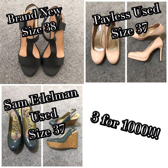 3 for 1000 Heels