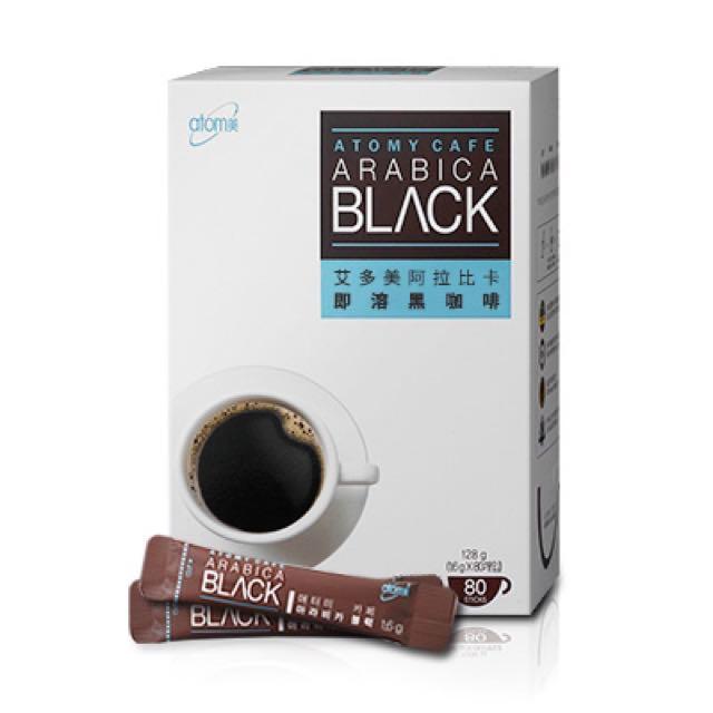 🇰🇷艾多美💕阿拉比卡即溶黑咖啡 80包
