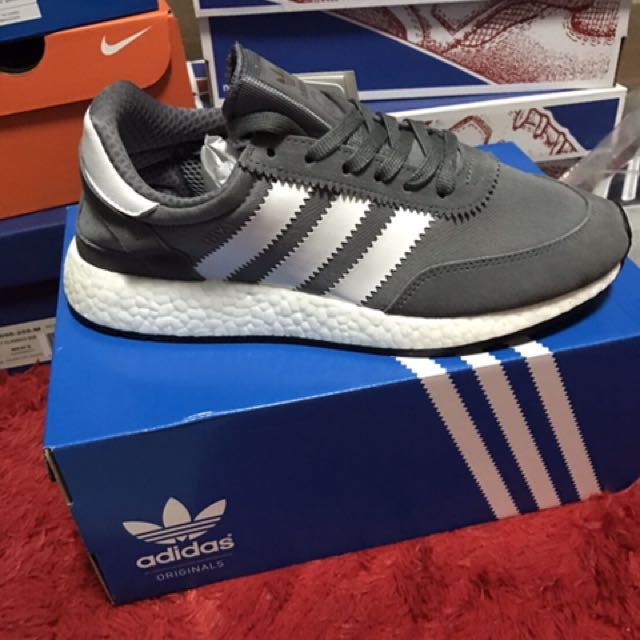 現貨 Adidas Iniki Boost 灰色配色 Size 8.5