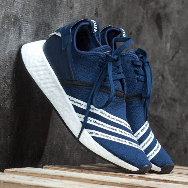 現貨 Adidas NMD R2 X White Mountaineering uS 7.5