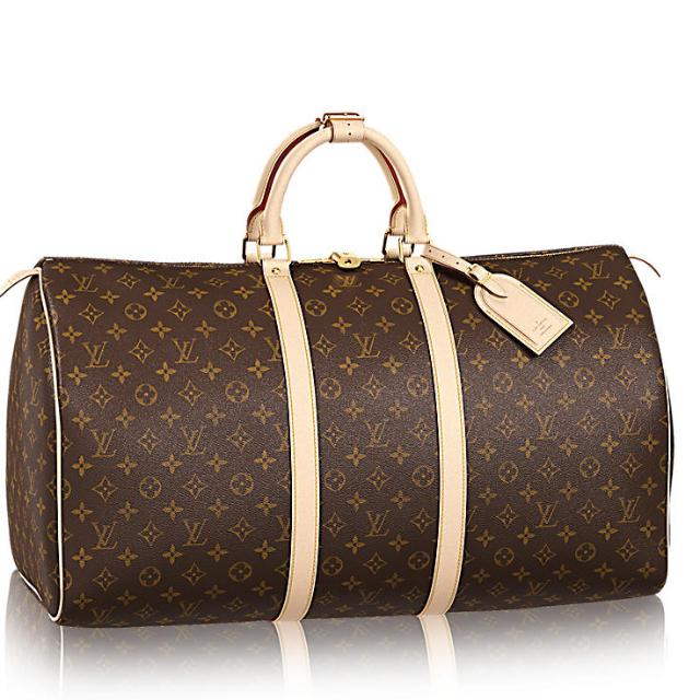 a7030d4f6 🆕 Louis Vuitton Keepall 55 Monogram Canvas, Luxury, Bags & Wallets, Others  on Carousell