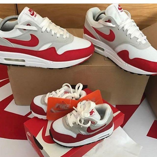 現貨 Nike Air Max 1 OG 紅色配色 23.5 jP