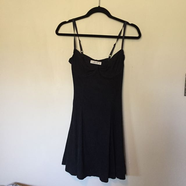 Abercrombie And Fitch Suede Dress