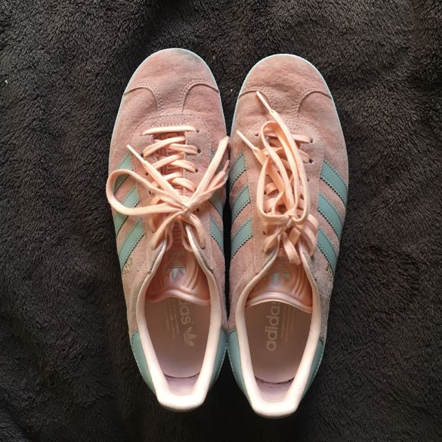 Adidas Gazelles Suede Pink