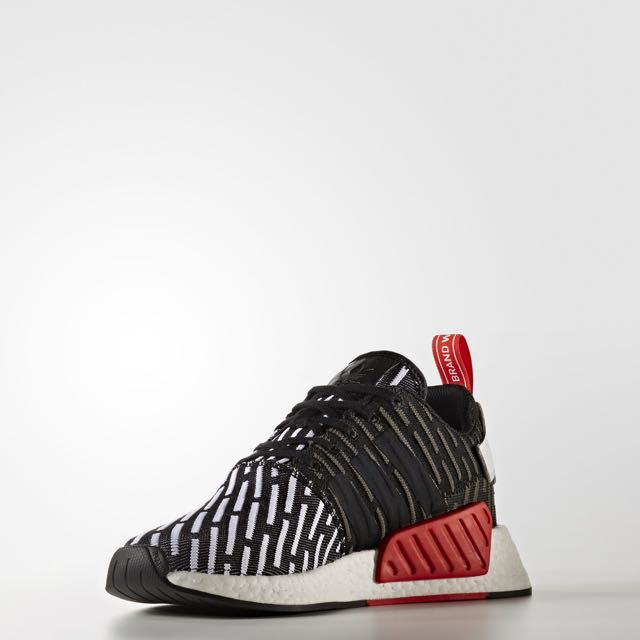 84c67748a Adidas NMD R2 PK Black Core Red BB2951