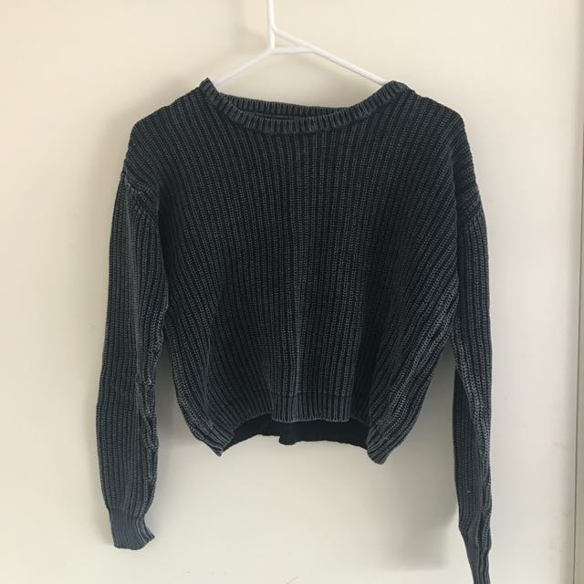 ALL ABOUT EVE Cropped Jumper