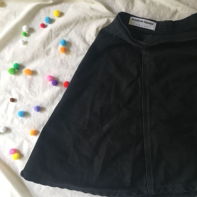 American Apparel Denim Skirt (L)