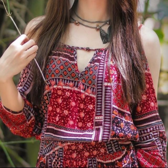American Eagle Outfitters( Bohemian Dress)