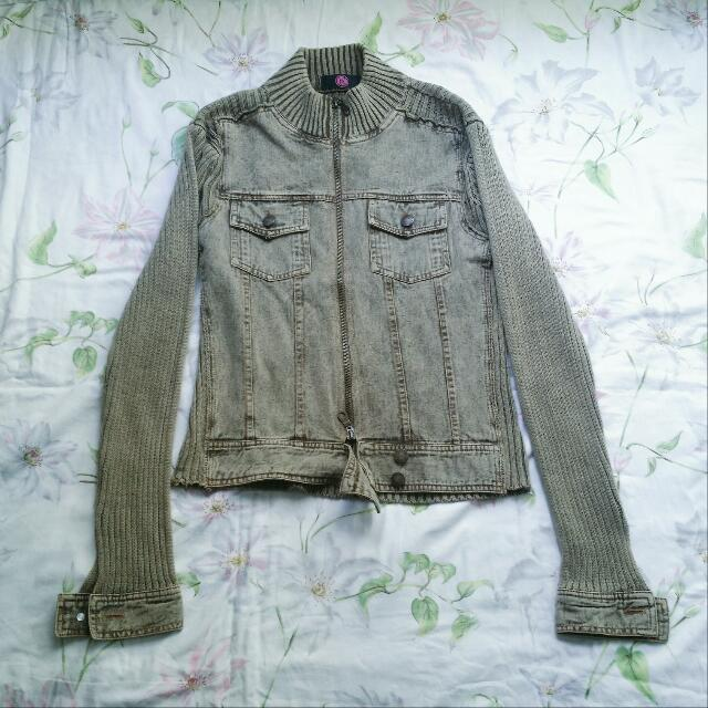 Army Green Denim Jacket