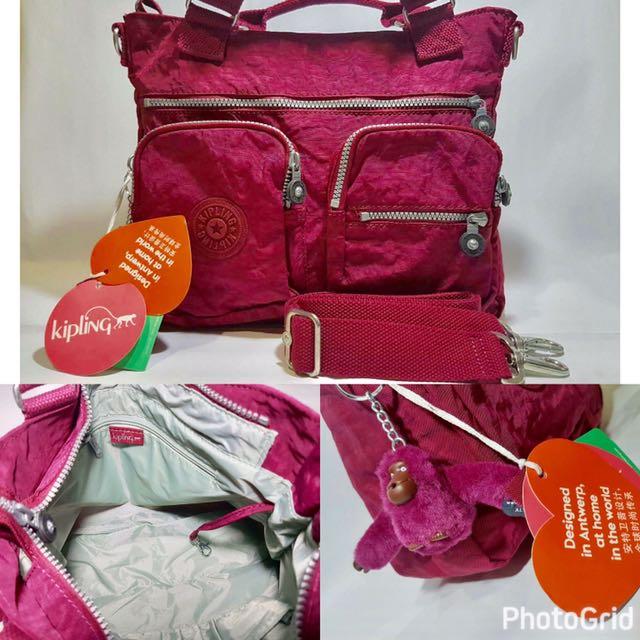 Authentic Kipling Tote Bag
