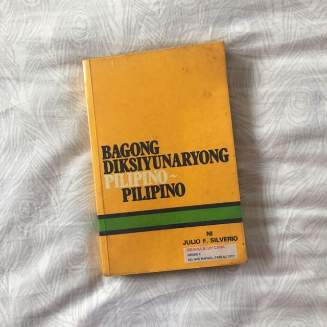 Bagong Diksyunaryong Pilipino Ni Julio F. Silverio