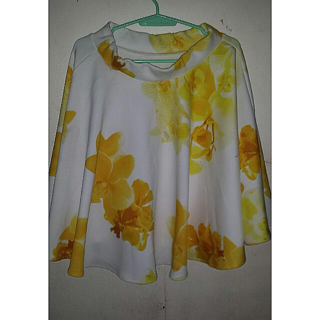 ✔REPRICED Ballon Style Yellow Skirt