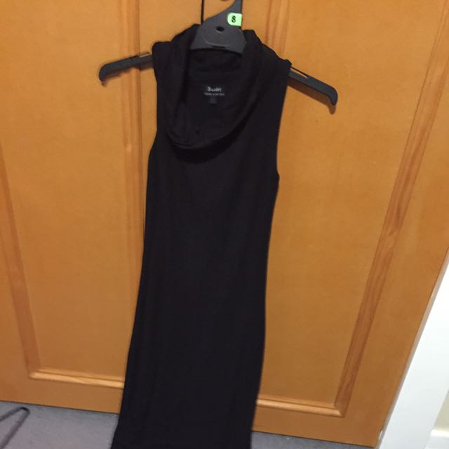 Bardot black Halter Dress Size 6