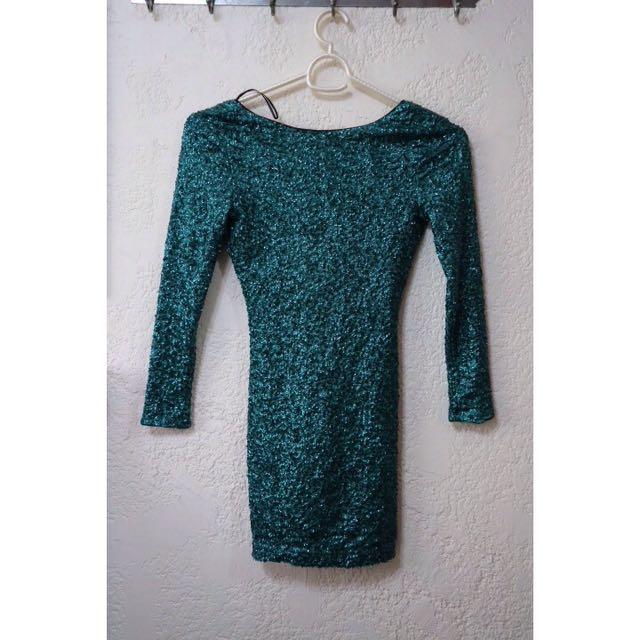 Bluegreen Dress