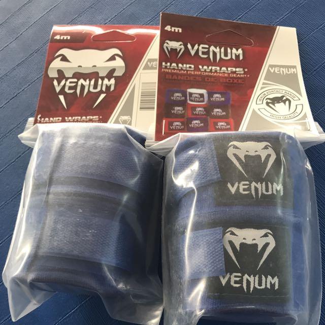 BNIP Venum Muay Thai Hand wrap ( Blue )