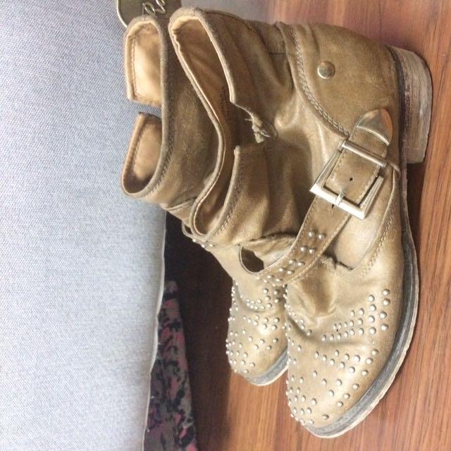 boots coklat forever 21