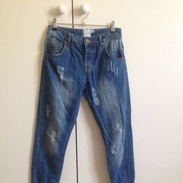Bran New ASOS Boyfriend Jeans