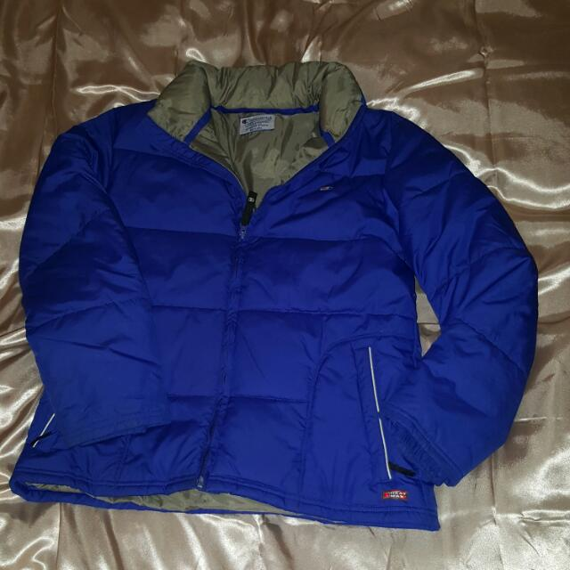 CHAMPION feather down puffer jacket