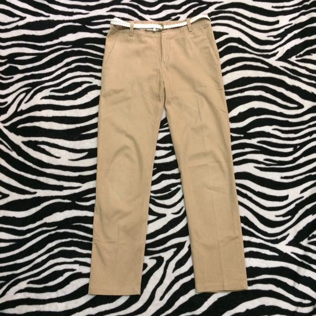 Cotton Pants (celana basic size 29)