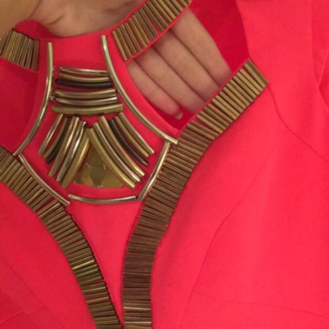 Define Fuchsia Tribal Dress On Carousell