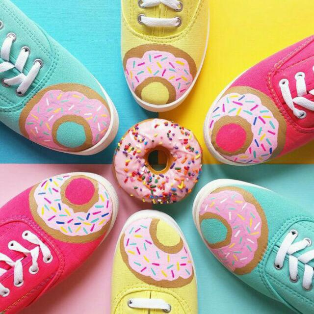 Donuts  Custom  Shoes