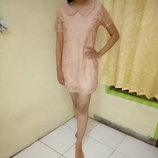 Dress Brukat Bangkok